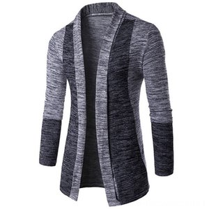 Autumn Classic Cuff Hit Colors Men's Clothing Men's Sweaters High Quality Cardigan Casual Coat 2018 New Fashion Men Sweaters Knitwear