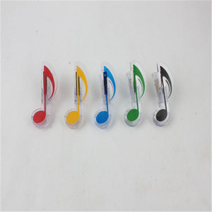 New Arrival Music Clip Papeterie Folder Clip, Musical Now Clips Piano Book Page Clips