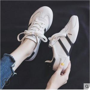 chaussures blanches rouge net 2019 automne nouvelle version coréenne sauvage plat de chaussures de sport sport respirant l'été de chaussures semelle souple 36-39