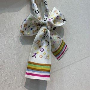 lenço fita de moda para senhoras lenços multi-usos, tiaras, bolsas e acessórios femininos de luxo cachecóis 8 * 120 V08 entrega gratuita