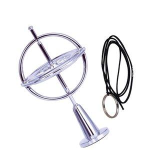 Красочное Fingertip гироскоп декомпрессионной Finger гироскоп игрушка для детей подарков Научно металла Гироскоп Сбросьте давление игрушки