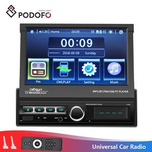 Podofo 1 Din Autoradio DVD Autoradio Bluetooth Multimedia Lettore video MP5 Touch Screen AUX-IN FM / USB Audio stereo