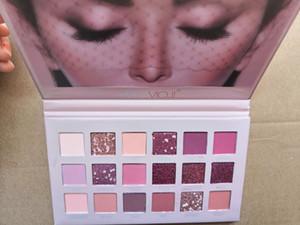 New Beauty Rose Glod Eyeshadow Palette 18 Colors Eyeshadow Palette Rose Gold Textured Palette Makeup Eye shadow free shipping
