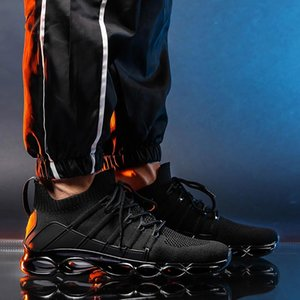 Cushion Running Shoes Air Mens Shoes Sports Designer Trainers Summer Sneakers Male Basket Sport Black Gym Athletic A488