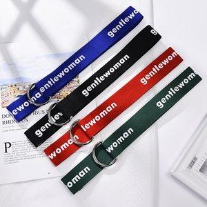 Belts 4 3*130CM Women Fashion Gift Belt Colors Color Strap Girl Waistband Canvas Jeans Christmas Solid Qvdoc