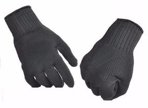 전술 100 % 작업 전체 손가락 보호 장갑 내 마모 안전 장갑은 저항 레벨 5 하이킹 야외 장갑을 잘라
