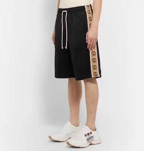 2020 Designer Luxus-Hosen Herren Hosen lose Bindung Individuelle Stoff überdimensionalen Knopf Logo OEM-Stickerei Side Gurtband nähen Design Hosen