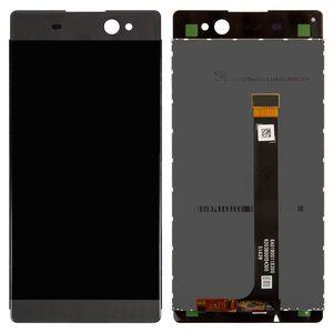 Sony Xperia XA Ultra için Çift Dokunmatik Ekranlı LCD Çift F3212 F3215 F3216 LCD ekran Digitizer Cam Panel Ön (dokunmatik ekranlı)