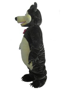 Halloween Bear Cartoon Character Mascot Costumes Suits Cosplay Party Game Dress Outfits Adult Size Factory Wholesale