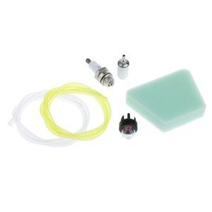 Filtre à air avec filtre à carburant Fuel Line Poire Spark remplacement Plug-Tune Up Kit d'entretien pour McCulloch 3200 3210 Moteur Chainsaw