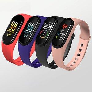 Latest M4 Smart Watch 2020 Sport Bracelet Wristband Waterproof Bluetooth Low Price Cheap Smart Watch Heart Rate Monitor