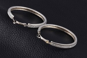 Silver Earrings Jewelry Korean Earrings Zirconia Channel Gold Crystal Pave Cubic Round Drop Fashion Hanging 14k Exquisite Hoop Iirce