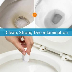 10Pc Toilet Cleaner Toilet Bowl Quick-Clean Effervescent Tablets Bathtub Glass Stain Deep Cleaning Room Deodorizer Air Freshener