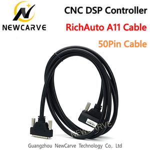 Câble dédié de connexion à 50 broches pour contrôleurs RichAuto DSP A11 A12 A15 A18 pour routeur CNC NRECARVE
