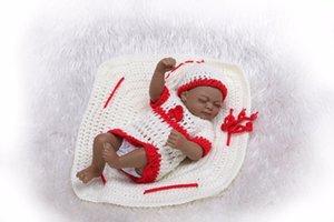 NPK nouveau premie nouveau-né mignon petit 12inch vinyle souple en silicone douce réelle douce poupée reborn bébé cadeau de Noël jouet chaud