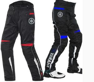 YAMAHA Oxford Buga algodão forro removível Anti-queda de proteção engrenagem equitação calças Four Season Calças Moto Moto