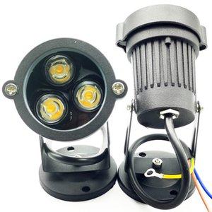 COB 6W Led Pool Light Outdoor Waterproof 3X2W Spotlight Outside Step Desk Lamp Fence Led Lawn Garden Lamp Spike Spot light 12V