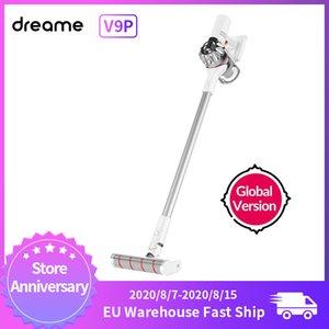 샤오 미를위한 Dreame V9P 휴대용 무선 진공 청소기 Protable 무선 사이클론 120AW 강력한 흡입 카펫 먼지 수집기