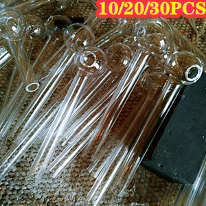 High Borosilicate Glass Pipe New Clear Thick Oil Burner Pyrex Glass Oil Pipe Smoking Pipe Set