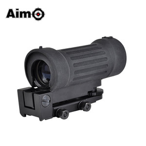 Aim-O Airsoft Riflescope Tactical Rifle Hunting Scope 4X30 Type Softair Optical Sight AO3035 Hunting Optics