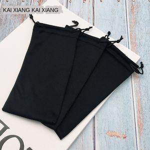 accessorio del telefono mobile panno di vetro fatti a mano di telefonia mobile accessori del sacchetto pura occhiali neri bag
