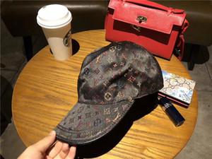 Высокое Качество Холст Роскошный Шапка Мужчины Женщины Шляпа Спорт На Открытом Воздухе Досуг Strapback Hat Европейский Стиль Дизайнер Sun Hat Марка Бейсболка С Коробкой