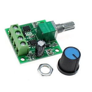PWM Speed Regulation Ultra Low Voltage DC Motor Governor Switch 1.8V 3V 5V 6V 12V 2A 1803BK Self-recovery Fuse Input DC1.8-15V