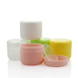 Garrafas 30g recarregáveis de plástico Maquiagem vazio Jar Pot Rosto Viagem Creme Loção Cosmetic Container