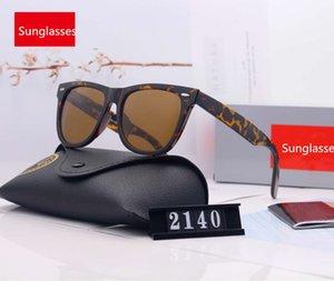 Designer occhiali da sole per uomo occhiali da sole di marca Mens occhiali UV400 2140 5 opzione di colori di alta qualità con la scatola