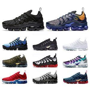 Nike Air Max Vapormax Tn Plus Vapor Laufschuhe Männer Frauen Dreifach Weiß Schwarz Zebra Blau Orange Traube Herren Trainer Sport Turnschuhe Chaussures Größe 36-47