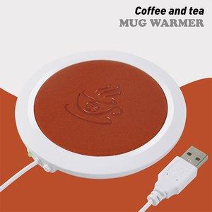 Résistant à la chaleur électrique Isolation Coupe USB chaud chaud Mat Pad chauffage Bureau café chaud Pad Mat Table