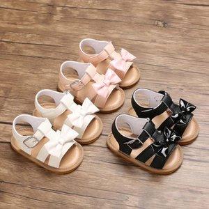 Baby-Sandalen Sommer weiche Sohle Schuhe Anti-Rutsch-Krippe Schuhe Künstliche PU Kleinkind-Säuglings Pre Walkers Comfort High Quality