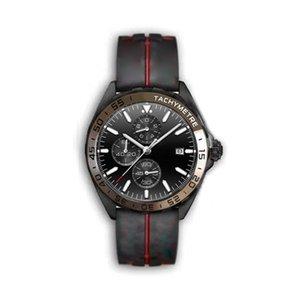 Mens Sport Montres 2020 concepteur luxe relojes f1 superluminova de luxe VK montre à quartz de bracelet en caoutchouc chronographe