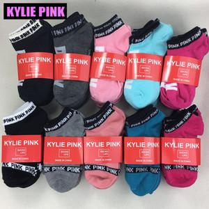 Носки KYLIE PINK для женщин и девочек на Рождество на зиму хлопковые носки Calcetines Sox разноцветные уличные носки harajukuk