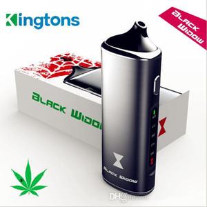 원래 블랙 위도우 Kingtons 3IN1 왁스 오일 건조 허브 모드 상자 키트 허브 기화기 전자 주스 액체 증기 개조 펜 전자 CIG 담배 키트를 vape