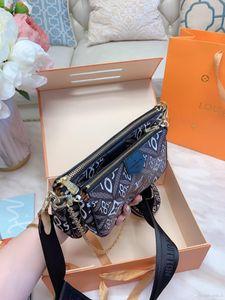 Designer luxury handbags purses wallets Three-piece color-changing leather Mahjong bag women card holder Shoulder Bags Small messenger bag