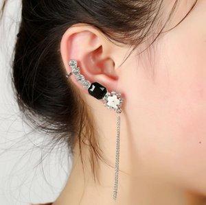 Livraison gratuite Mixed 20pcs alliage personnalité femmes diamants cristal Boucles d'oreilles clips oreille broches d'oreille Dance Party Lolita Punk Skull Bijoux 102