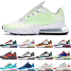 Nike air max 270 react Benim hissediyor Yeni Moda Bauhaus Rüya Kapsül Sug8r Ücretsiz Turuncu eğitmenler nefes spor ayakkabı mens koşu ayakkabıları erkekler kadınlara tepki