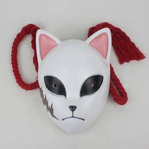 Demon Slayer Kimetsu keine Yaiba Kamado Tanjirou Cosplay Schablone Makomo Sabito Dämonentöter Resin Maskerade Maske