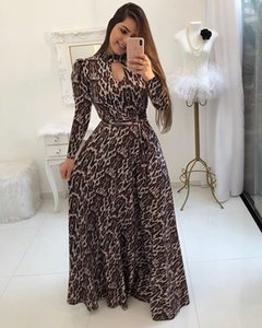 Women Summer Long Sleeve Dresses Fashion Autumn Winter Womens Stylish Printed Dresses Casual Streetwear High Quality Clothes Size S-5XL