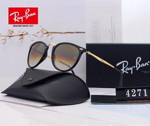 빈티지 골드 브라운 파일럿 선글라스 oculos 드 졸 남성 고급 디자이너 태양 안경 음영 새로운 상자