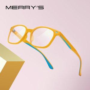 Мерри Анти синий свет Блокировка очки Для детей мальчик девочка компьютерных игр очки Blue Ray S7104