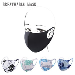 New Camouflage Adult Masks Children Solid Color Breathable Masks Household Anti-dust Washable Reusable Masks Free Shipping