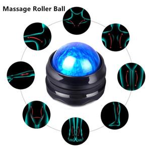 Masaj Rulo Topu Etkili Geri Roller Masaj Ağrı Kesici Vücut Sırları Manuel Sağlık Masaj Merdane bırakma basıncı Topu fitnes