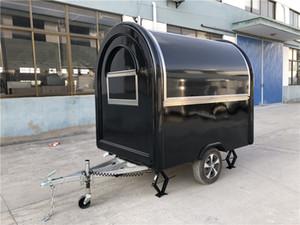 Gıda Kamyon Gıda Fragman Mobil Mutfak 230x165x23cm Siyah