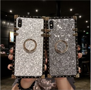 NEW 2020 SHINNY DIAMOND CELL PHONE CASE FOR IPHONE6-11PRO AND SAMSUNG S8-10 4 COLOURS FITTED CASE AND DIR-RISTANT FREE SHIPPING