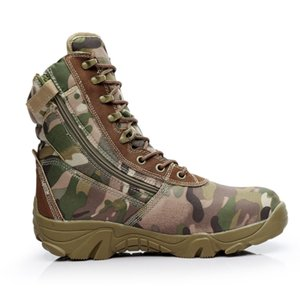New Military Leather Boots High Quality Special Force Tactical LaceUp Boot Combat Men's Boots Outdoor Shoes Ankle Boots