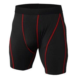 psvteide nuovi uomini di compressione Shorts Trainning Esercizio Pantaloncini fitness da rapida essiccazione traspirante Marathon da jogging Pantaloncini sportivi