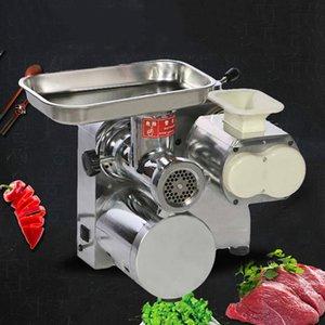 Comercial eléctrica picadora de carne de escritorio del hogar de la máquina cortadora 1500w