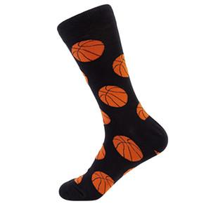 Erkek Gülünç Penye Mutlu Çorap Renkli Çok Desenli Uzun Tüp Kaykay Noel Erkek kaykay Socks Çorap